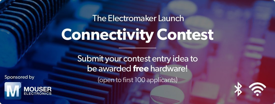 Electromaker launch contest