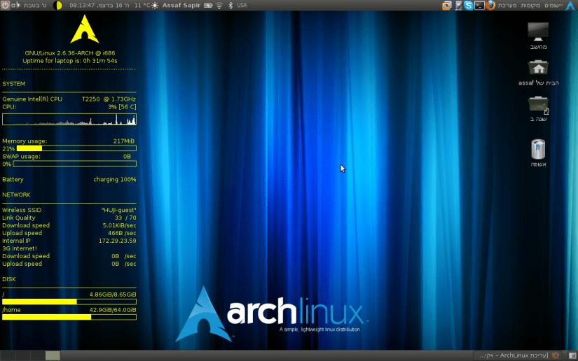 best raspberry pi linux distros - arch linux raspberry pi