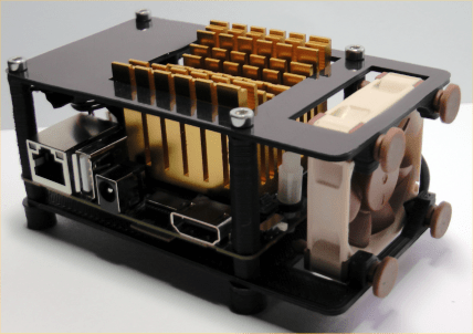 best odroid xu4 case options - hominoid odroid xu4 case