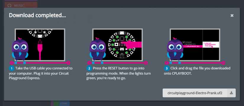 Taking your first steps with the Adafruit Circuit Playground