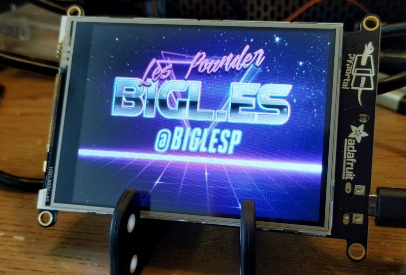 adafruit pyportal review - biglesp logo