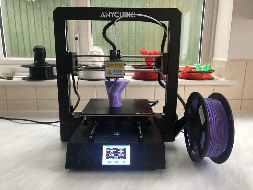 Anycubic i3 Mega S printing