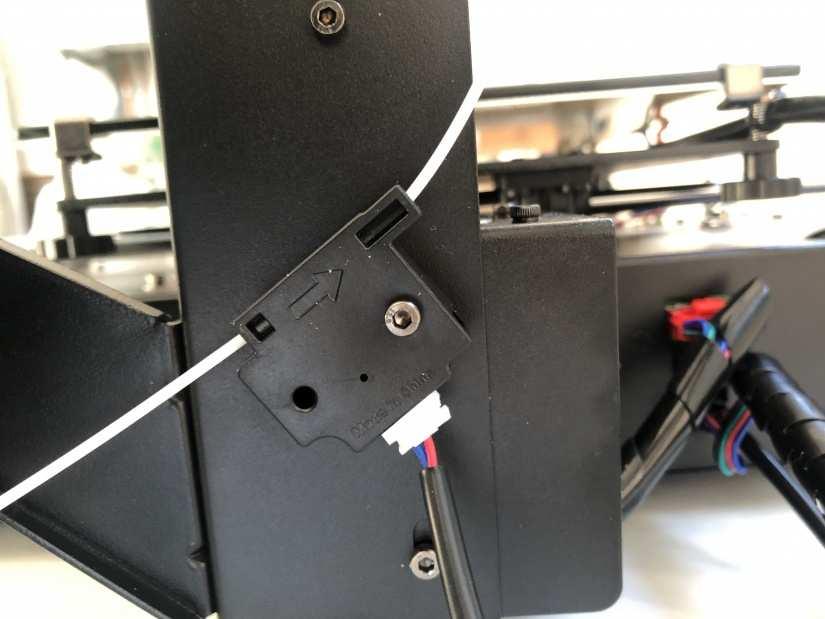 Anycubic i3 Mega S filament sensor