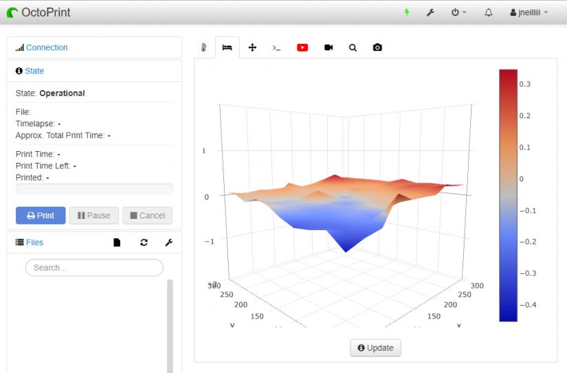 Best OctoPrint Plugins - bed visualizer