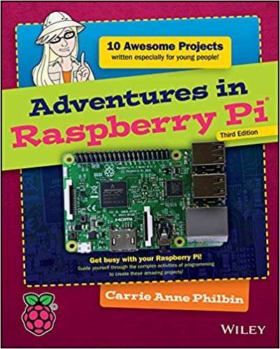 best raspberry pi books you should read - adventures in raspberry pi