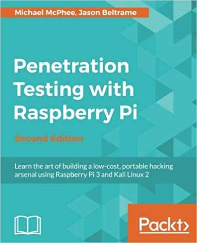 best raspberry pi books you should read - penetration testing with raspberry pi