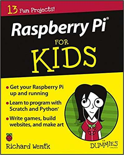 best raspberry pi books you should read - raspberry pi for kids for dummies