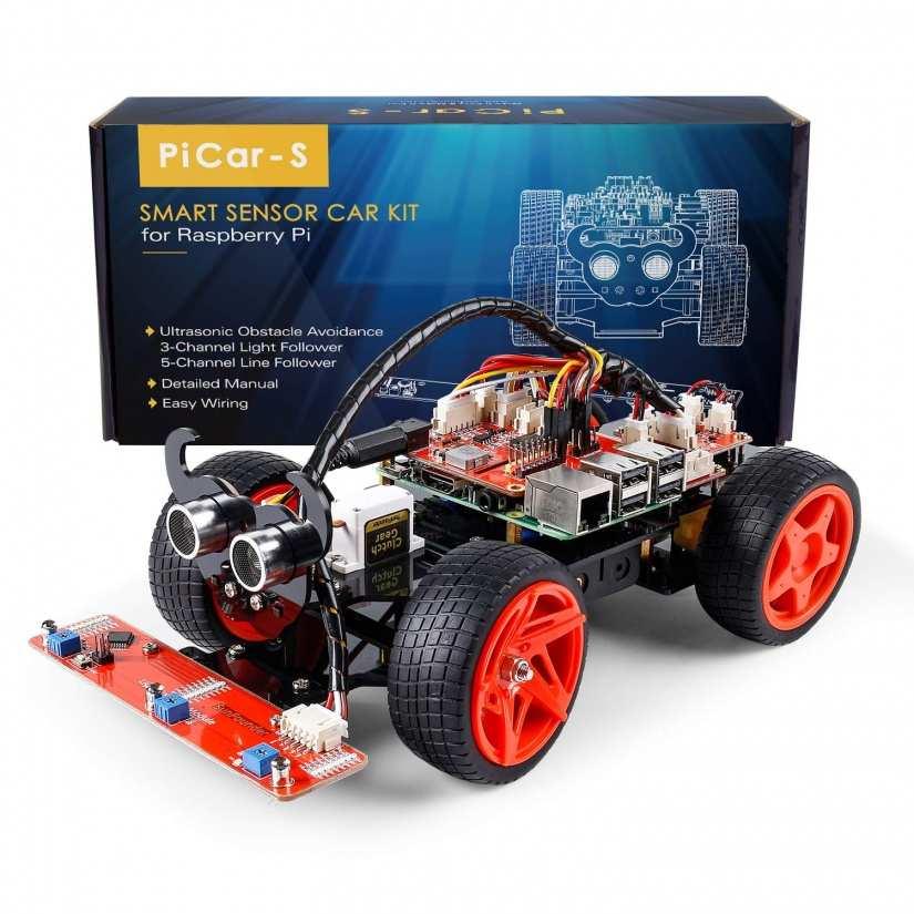 Best Raspberry Pi Kit for Kids - sunfounder raspberry pi car