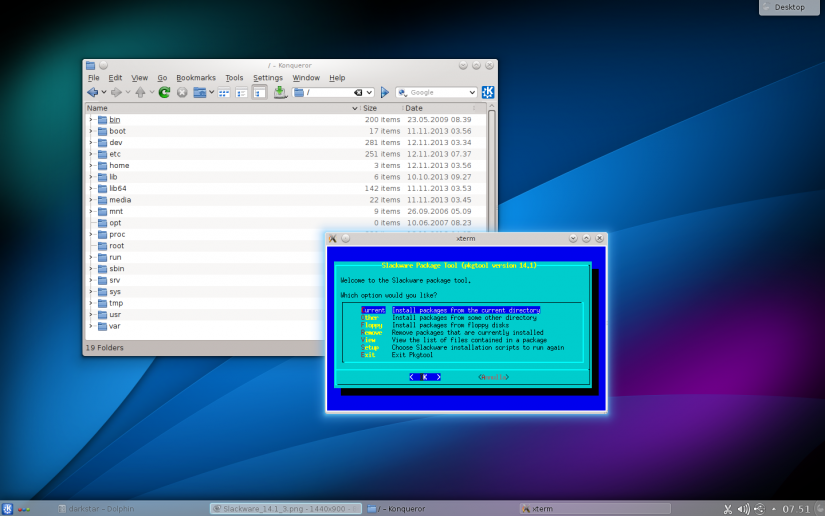 best rockpro64 os options - slackware