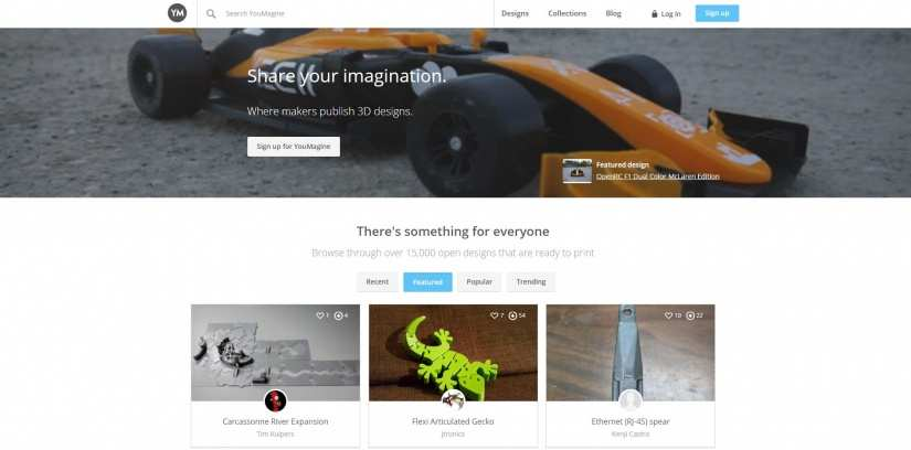 Best Websites for 3D Printing Models: Best Sites for 3D Printer Files - youmagine