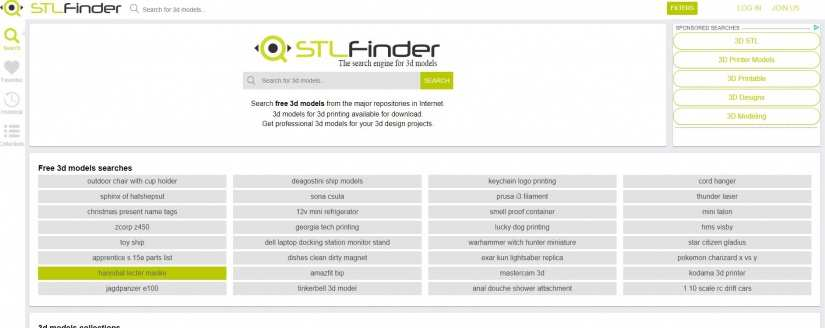 Best Websites for 3D Printing Models: Best Sites for 3D Printer Files - stl finder