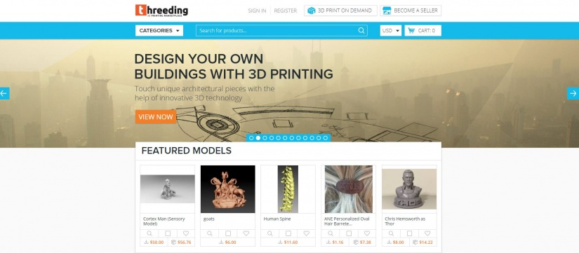 Best Websites for 3D Printing Models: Best Sites for 3D Printer Files - threeding