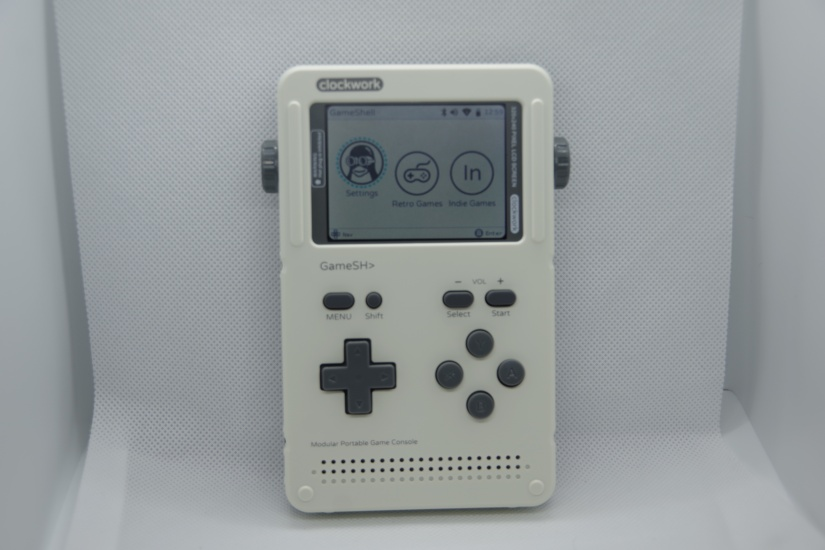 clockworkpi gameshell review - complete gameshell