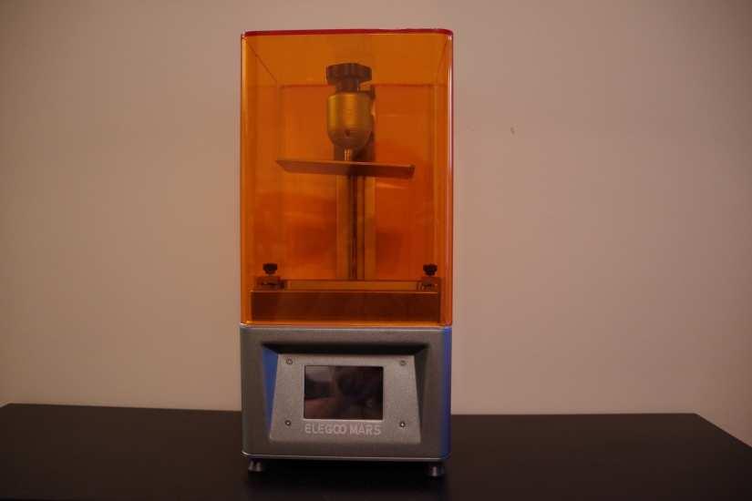 elegoo mars lcd photocuring printer resin