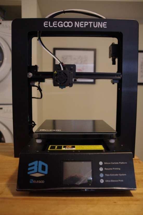 Elegoo Neptune 3D printer Review - best 3d printer under $500