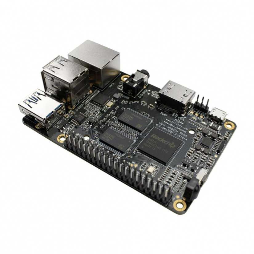 libre computer roc-rk3328-cc vs raspberry pi 3