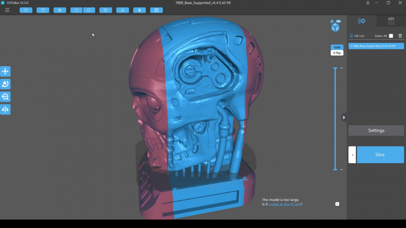how to slice 3d printable files - resin 3d printer