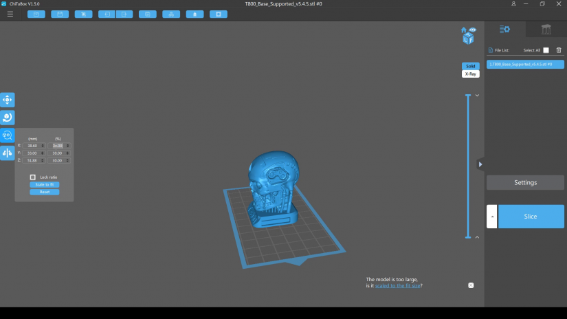 how to slice 3d printable files - chitubox resin 3d printer