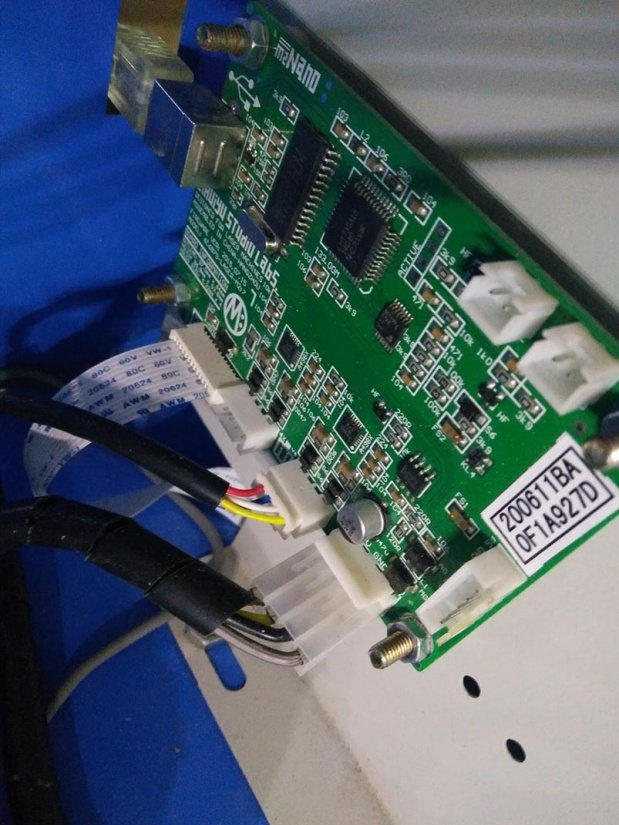 Using alternative software to control the laser cutter