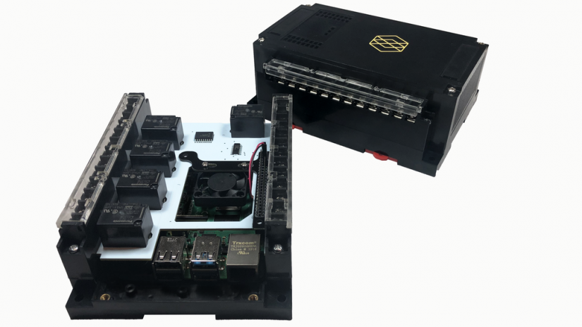 Raspberry Pi Pi-oT Industrial IoT add-on board crowdfunded
