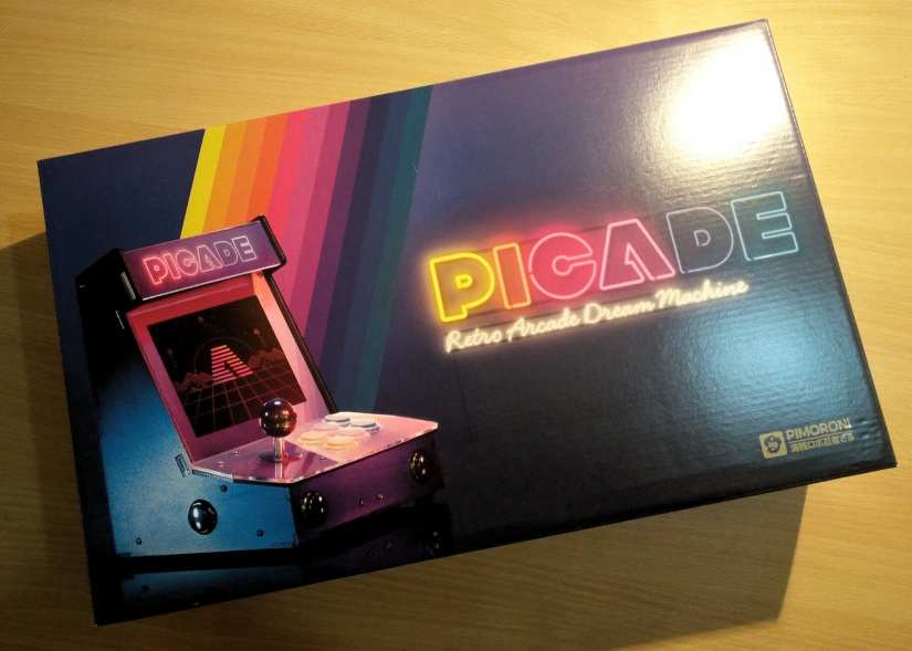 Pimoroni Picade Build, Hack and Review
