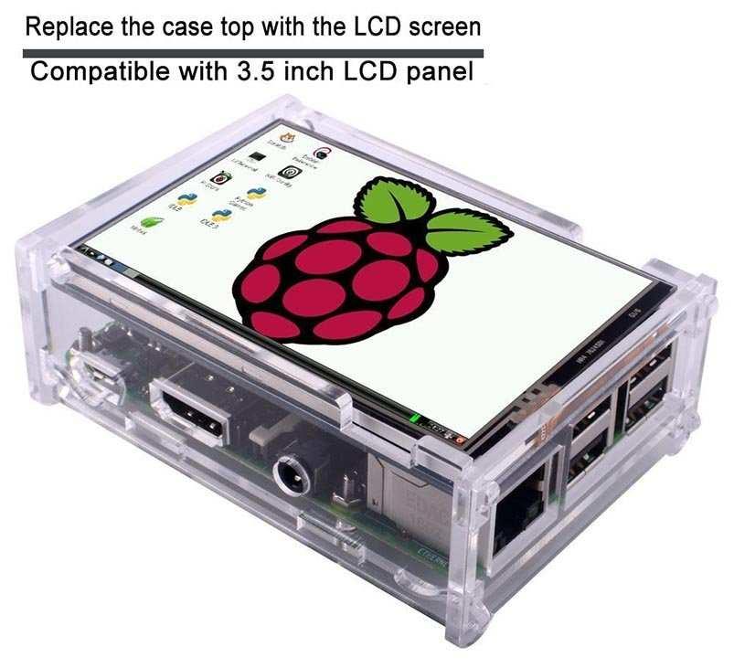 Best Raspberry Pi Cases - TFT touchscreen case for Raspberry Pi