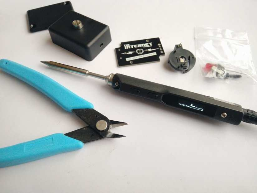 What is the TS100 Soldering Iron?