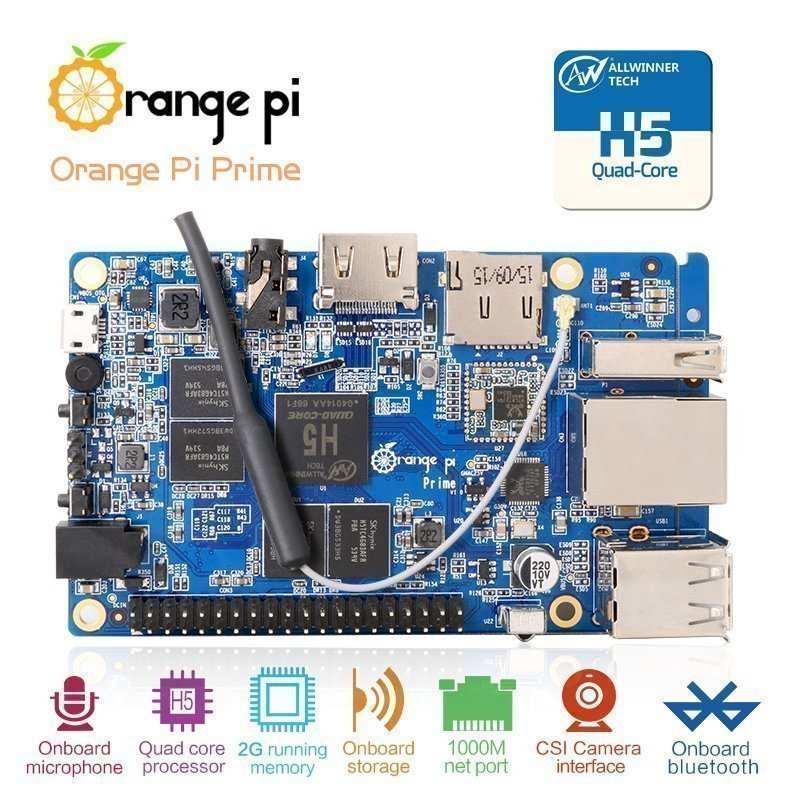 best raspberry pi alternatives - orange pi prime