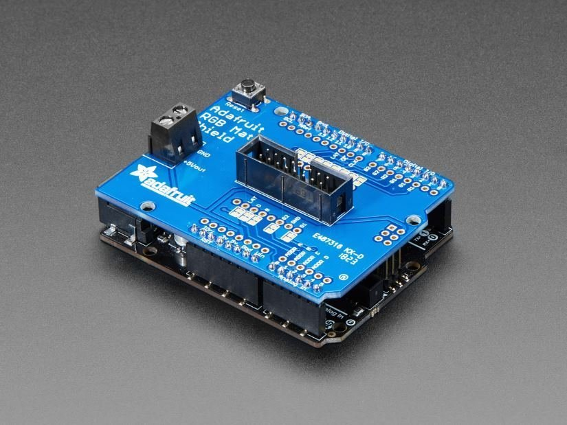 What Can You Do with an RGB LED Matrix Shield for Arduino?