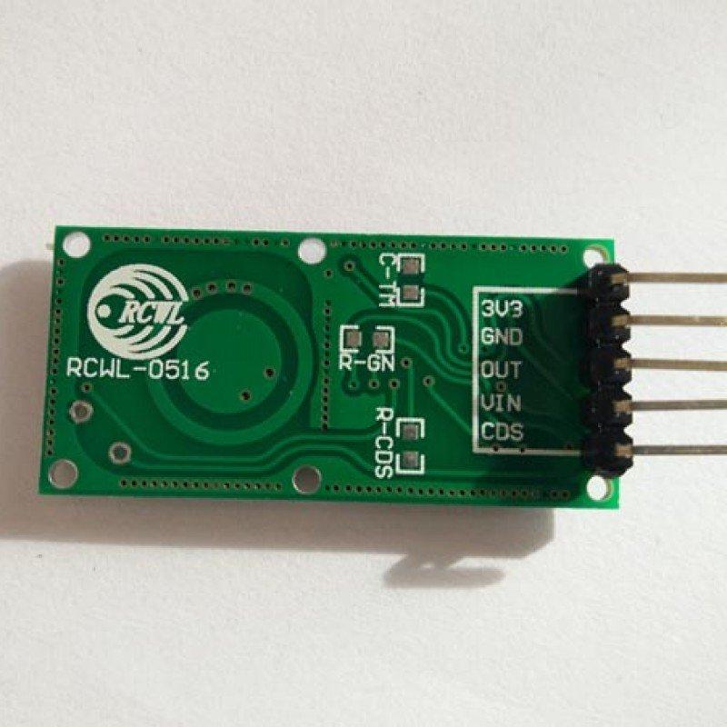 Using a Doppler radar sensor with the Raspberry Pi