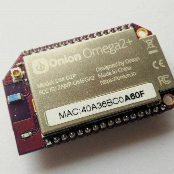 What is the Onion Omega 2+ and what can I do with it?
