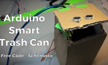 Create a Low Budget Smart Trash Can with Arduino