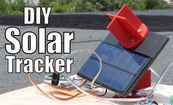 Arduino-powered Active-tracking Solar Panel