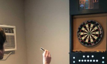 A Raspberry Pi and Arduino-Powered Dart Board Digital Scoring Display