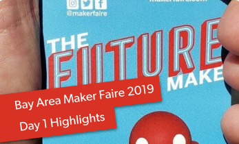 Maker Faire Bay Area 2019 Day 1 Highlights: Sony Meets Watson, Raspberry Pi Budding Makers, and More