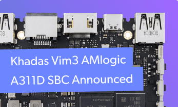 Khadas VIM3 Released - Amlogic Single-Board Computer With Android, Linux Support
