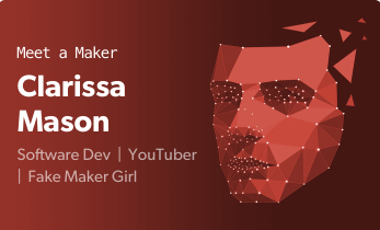 Meet a maker Podcast Episode 3: Clare Mason aka Clarissa of Make and Fake