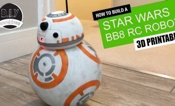 An Arduino-Controlled BB8 with 3D Printed Parts!