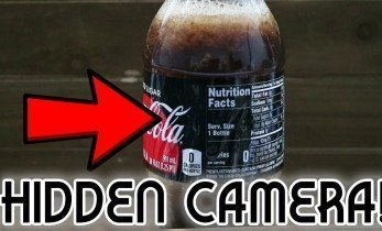 Secret Cola Bottle Spycam