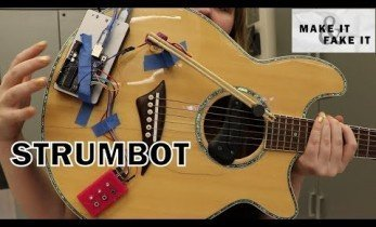 And Now.... A Guitar that Plays Itself!