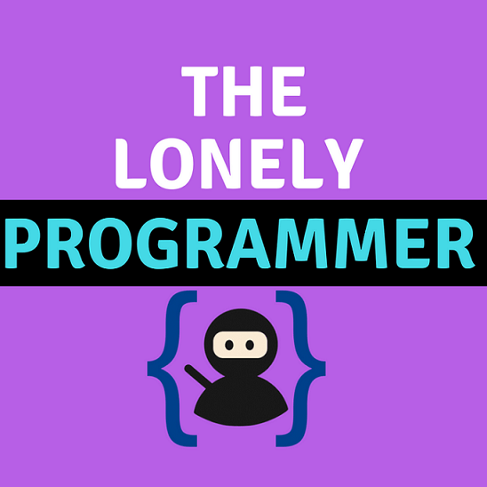 Photo of the lonely programmer