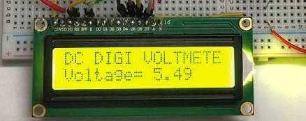 Arduino Digital Voltmeter