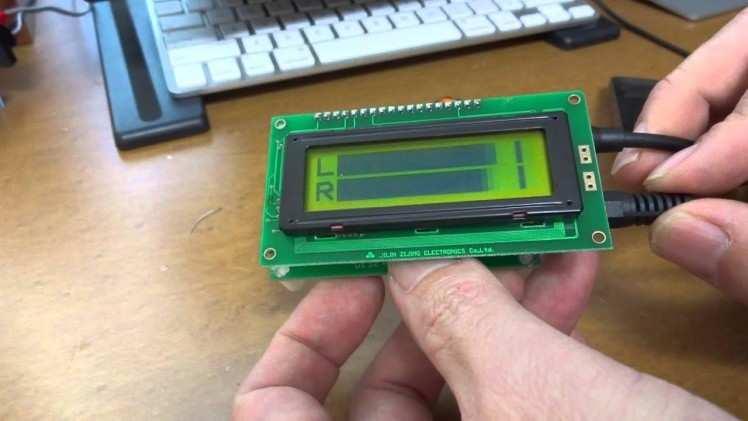 Arduino Audio VU Meter