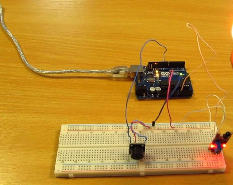 Interfacing of Flame Sensor using Arduino
