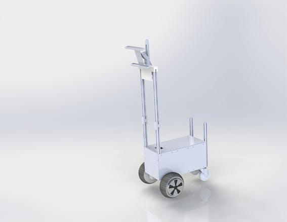 Figure 8, 3D Robot Model