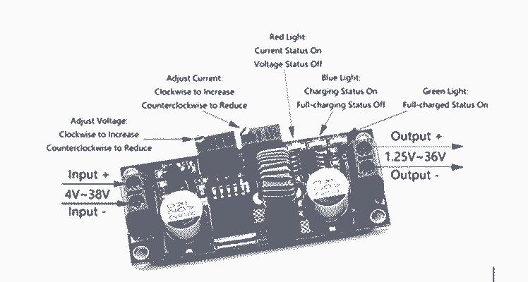Figure 8, DC DC Constant Step down Current Regulator Module
