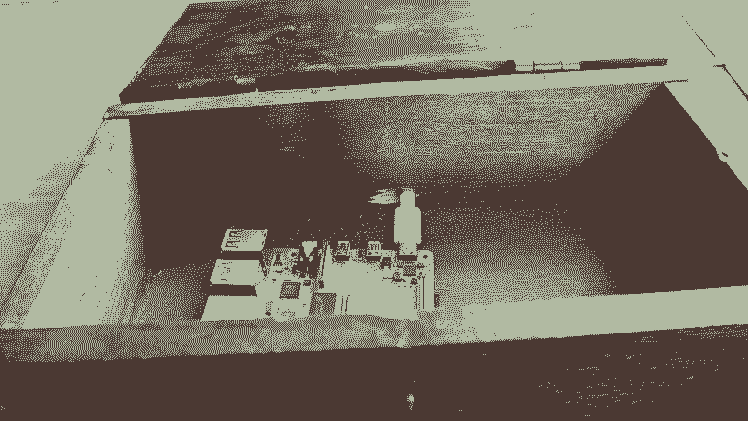 Raspberry Pi in the chest