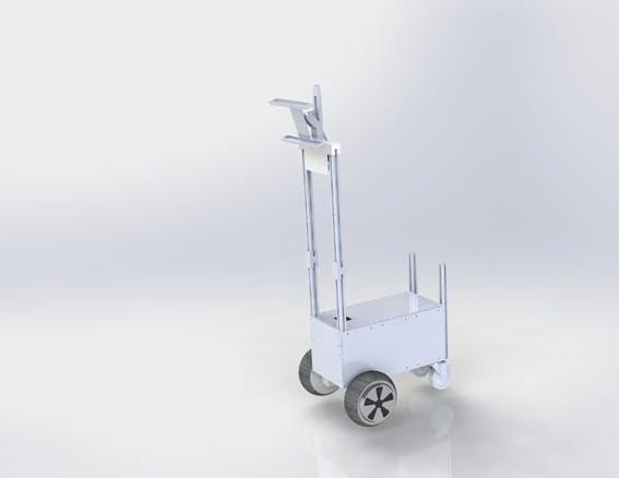Figure 13, 3D Robot Model