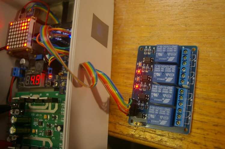 Testing Relay Board with Tracker as alternative to PWM - Back to the future ?