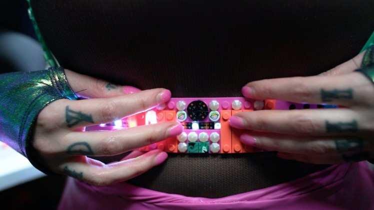 LEGO Dots LED Belt powered by Unicorns